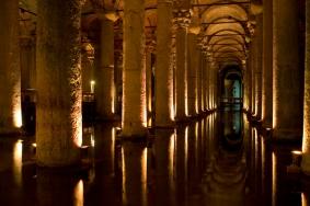 Roman Cistern, Istanbul